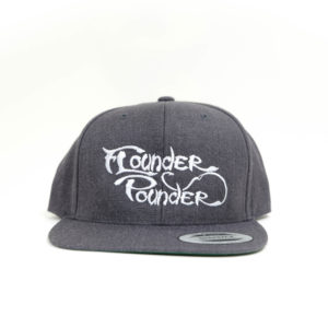 Flounder Pounder Gray Flat