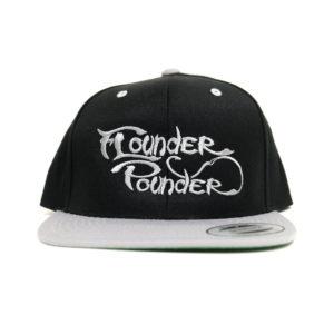 Black/Silver Flounder Pounder Flat